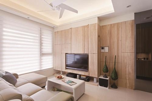 木設計、木壁牆、木門窗
