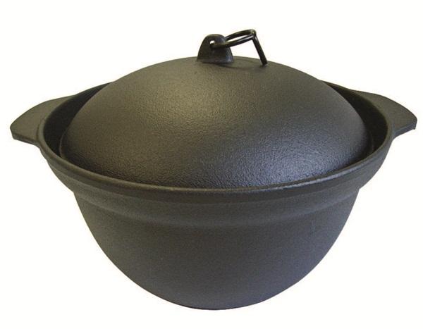 鑄鐵鍋、料理