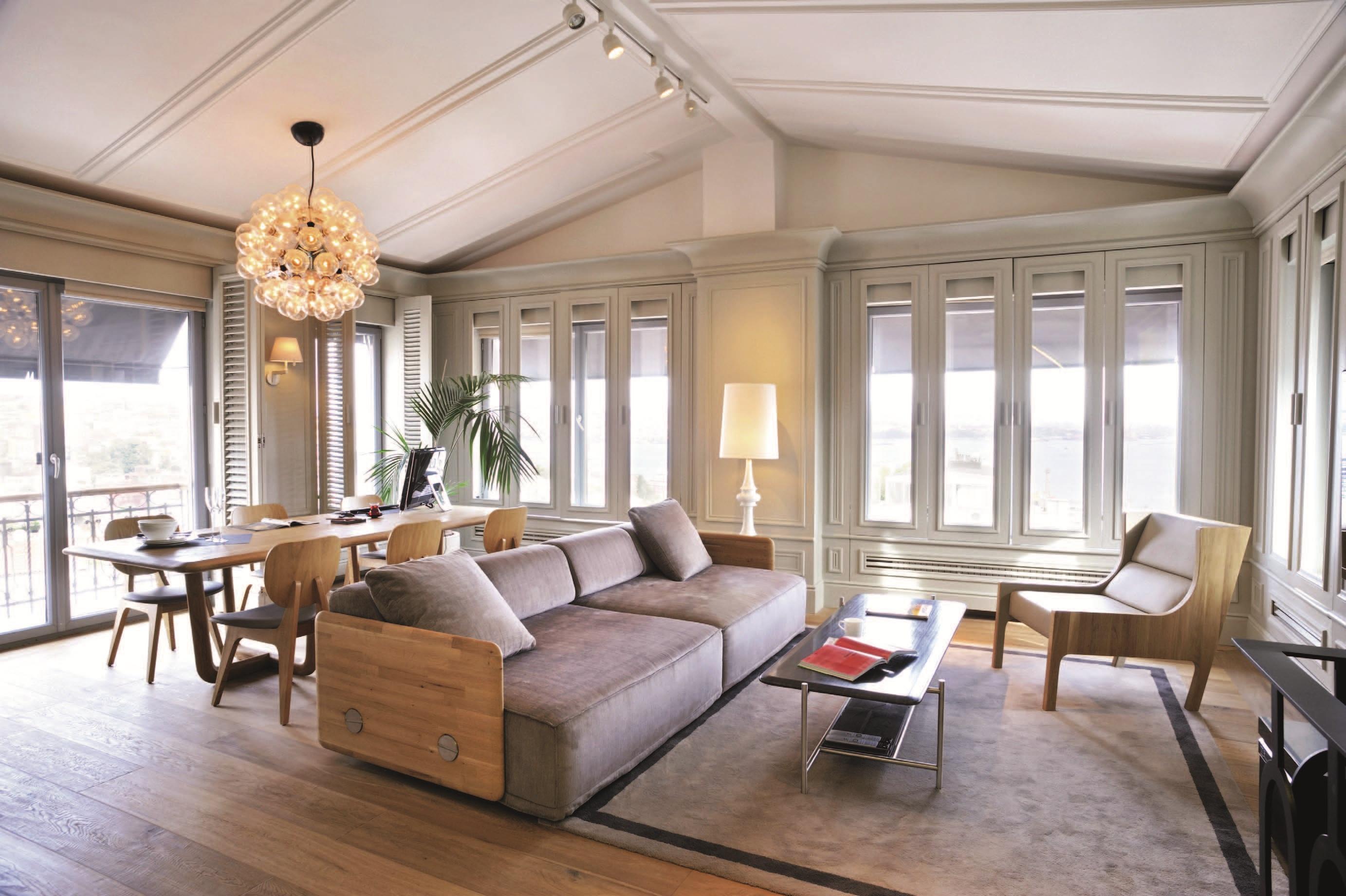 【摩登居家空間】來自伊斯坦堡暨現代又古典的LOFT空間