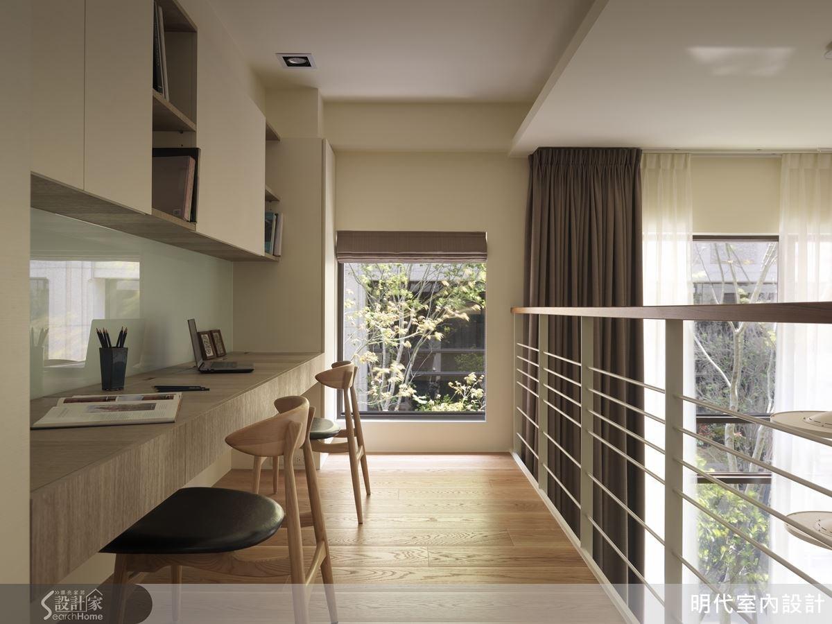楼梯电视柜一体设计