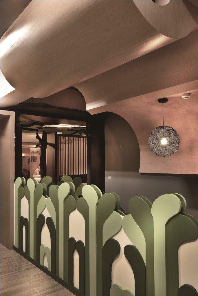 林的空间--Dulux学院作品大赏愿望艺术-设计家英国卡斯色彩建筑设计金奖图片