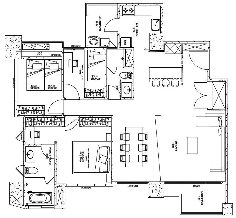 平面图片提供_浩室空间设计