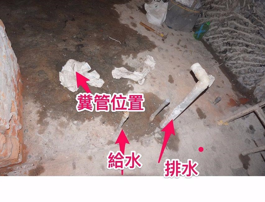 解法參考:【裝潢小跟班Ⅱ-5】安全性施工是老屋裝修關鍵:泥作、水電管線與閉水測試