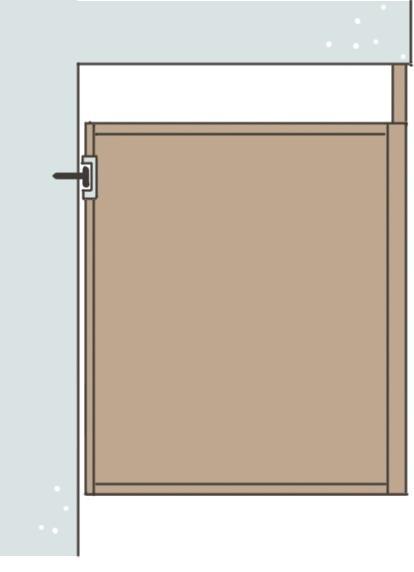 懸吊器櫃體需再以線板修飾天花間隙。插畫/黃雅方