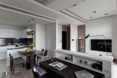 絨絨雪白 專屬的溫柔宅寓 沐果設計 于大緯、楊淑華