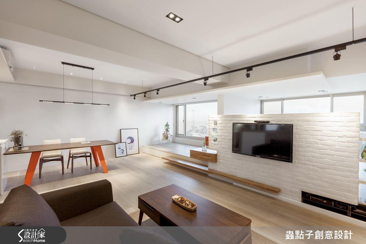 设计家 精选文章 18 坪北欧宅 这是一个开放式大房间的概念!图片
