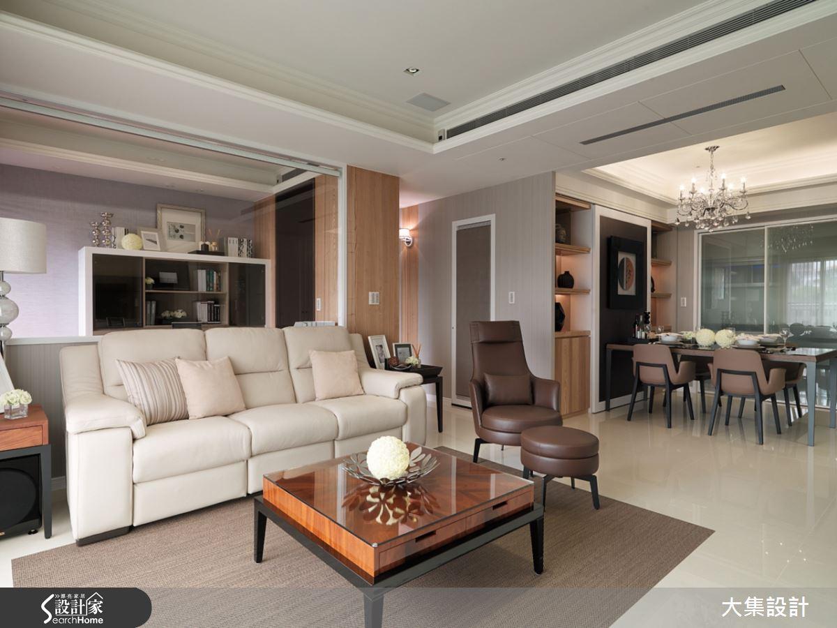 將時尚元素融入新古典設計的經典美宅,讓你看見幸福的模樣