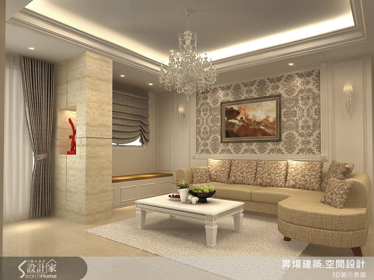 新古典奢華風樓中樓設計 打造一家四口的精緻生活
