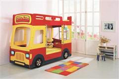 SUN BABY的City Bus 兒童巴士(031巴士雙層床)