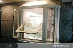 冠亨鋼鋁的歐洲橫軸翻轉廣角窗KE01