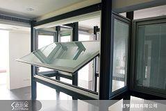 冠亨鋼鋁的歐風橫軸翻轉氣密隔音窗